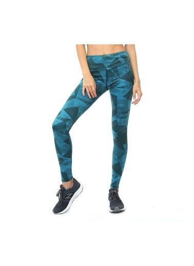 New Balance Kadın  Tayt 45422 Mavi